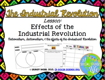Industrial Revolution in America UNIT BUNDLE