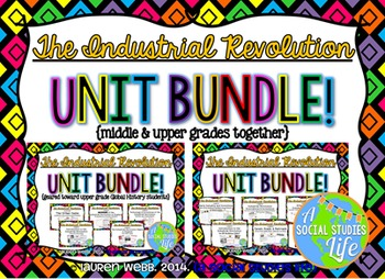 Industrial Revolution UNIT BUNDLE (America and England Combined)