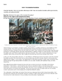 The Industrial Revolution Unit Packet with Primary Sources and Graphic Organizer