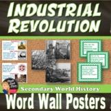 The Industrial Revolution WORD WALL (World History) - Grades 8-12