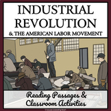 LABOR DAY AND THE INDUSTRIAL REVOLUTION  - Reading Passages and Activities