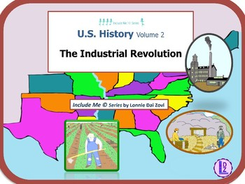 The Industrial Revolution  Using Pictures for Special Ed., ELL