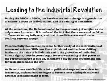 The Industrial and Cultural Revolutions Walking Tour for World History
