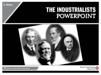 The Industrialists PowerPoint