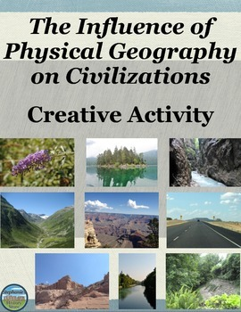 The Influence of Physical Geography on a Civilization Creative Activity
