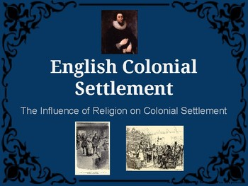 The Influence of Religion in the British Colonies