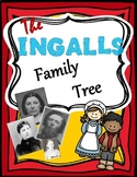 The Ingalls Family Tree Graphic Organizer and Lesson Plan