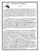 The Ingenious Mosquito Worksheet