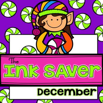 The Ink Saver Printables for December