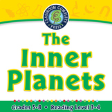 The Inner Planets - NOTEBOOK Gr. 5-8