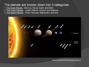 The Inner Planets PowerPoint