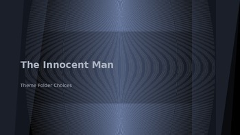 The Innocent Man Themes