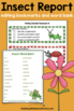 Insect Report: Tiered Report Writing Templates