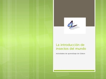 Insects-Insect World in Spanish