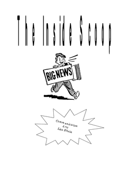 The Inside Scoop-End of the Year News Program