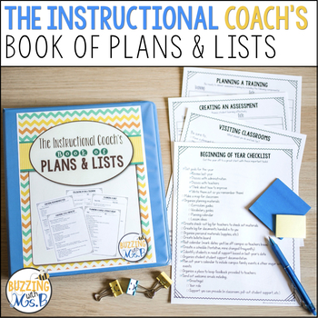 The Instructional Coach's Book of Plans and Lists