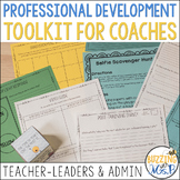 Professional Development Toolkit for Coaches & Administrators, Editable