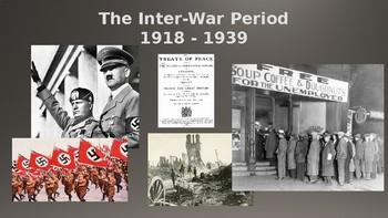 The Inter-War Period 1918-1939 Powerpoint