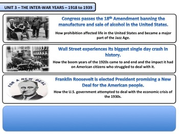 The Inter War Years - Complete Bundle