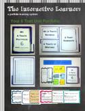 The Interactive Learner: 6 Traits Portfolio Unit **BUNDLE**