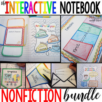 The Interactive Notebook - Nonfiction Bundle