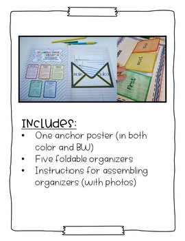 The Interactive Notebook - Organizational Patterns of Nonfiction