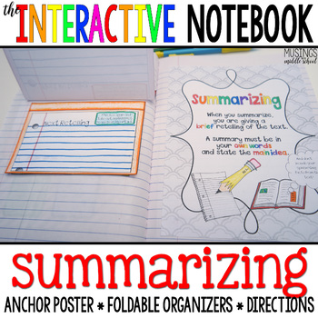 The Interactive Notebook - Summarizing