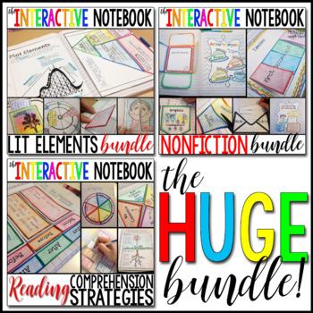 The ELA Interactive Notebook - The HUGE Bundle!