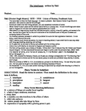 The Interlopers Activity Packet