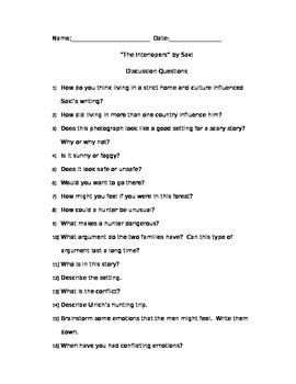 The Interlopers Discussion Questions