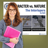 The Interlopers: Literary Conflict - Character vs. Nature Poster