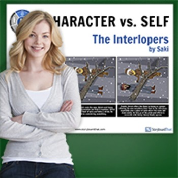 The Interlopers: Literary Conflict - Character vs. Self - Man vs. Self Poster