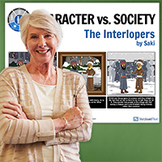 The Interlopers: Literary Conflict - Character vs. Society Poster
