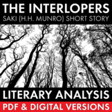 Interlopers, Saki short story, 45-min. lesson, lit. analysis & writing task