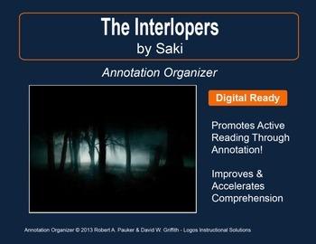 """Interlopers"" by Saki (H.H. Munro): Annotation Organizer"