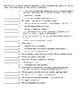 The Interlopers by Saki Bundle 5 separate items & KEYS (18 pgs)