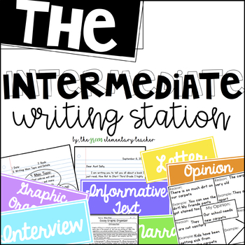 The Intermediate Writing Station