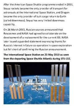 The International Space Station Handout