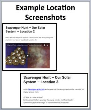 The International Space Station – Scavenger-Device-Based Scavenger Hunt Activity