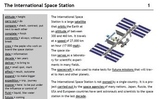 The International Space Station - Text and Exercise Sheets