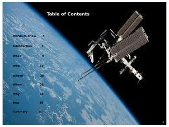 The International Space Station - Who, What, When, Where, Why, How