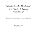 The Introduction to Montessori Art, Music, and Poetry Plus