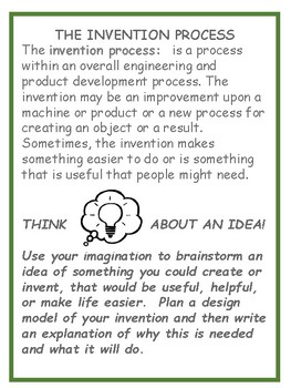 The Invention Process