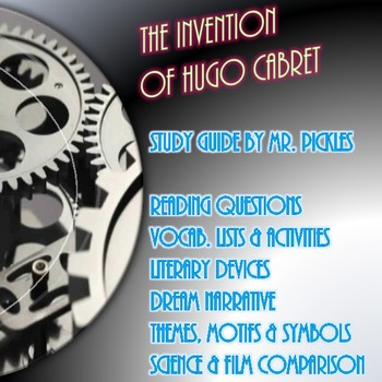 The Invention of Hugo Cabret study guide and classroom activities