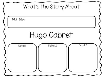 The Invention of Hugo Cabret ~ 54 pages of Common Core Activities