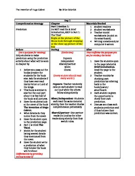 The Inventions of Hugo Cabret Lesson Plans (44 days)
