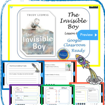 The Invisible Boy - Lesson Plan