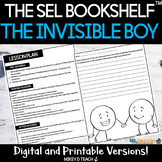 The Invisible Boy Activities & Lesson Plan | SEL | PRINT &