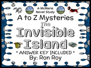 The Invisible Island : A to Z Mysteries (Ron Roy) Novel Studies / Comprehension
