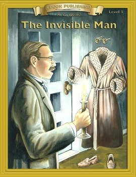 The Invisible Man RL3-4 ePub with Audio Narration